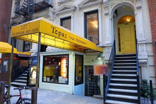 Topaz - Authentic Thai restaurant in Manhattan
