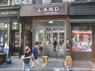 LAND - Thai Kitchen in Manhattan
