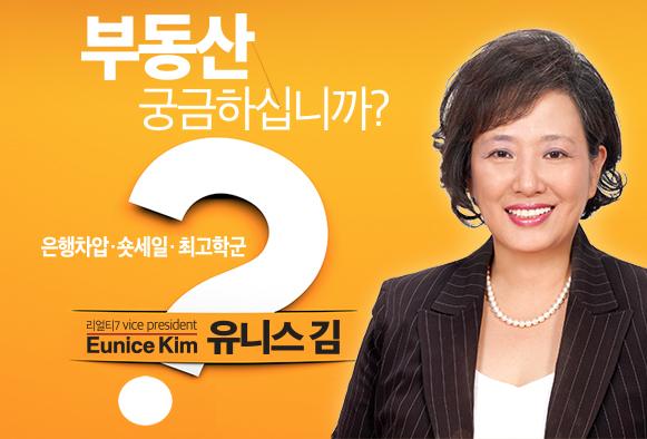 뉴욕/뉴저지 부동산전문인. 유니스 김(Eunice Kim)